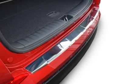 Poza cu Protectie bara spate, Toyota Yaris, 2005-2011