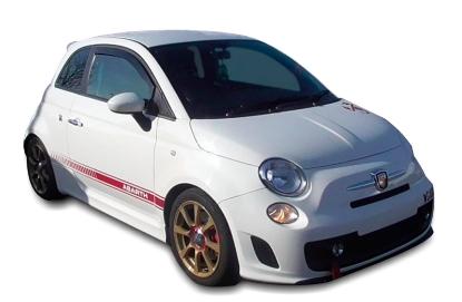 Poza cu Set paravanturi fata, Fiat 500, 2007-