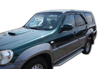 Poza cu Set paravanturi fata si spate, Hyundai Terracan, 2001-2007