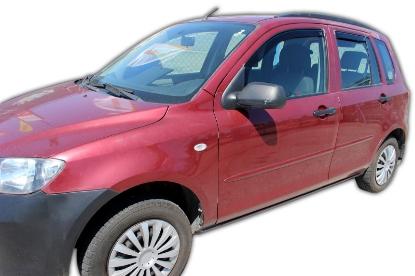 Poza cu Set paravanturi fata si spate, Mazda 2, 2002-2007