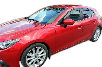 Poza cu Set paravanturi fata si spate, Mazda 3, 2013-2019