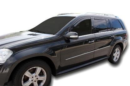 Poza cu Set paravanturi fata si spate, Mercedes-Benz Clasa GL (X164), 2006-2012