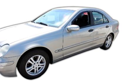 Poza cu Set paravanturi fata si spate, Mercedes-Benz Clasa C (W203), 2000-2007
