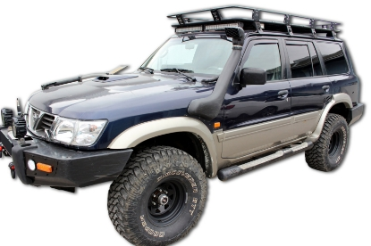 Poza cu Set paravanturi fata si spate, Nissan Patrol (Y61), 1997-2010