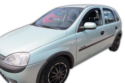 Poza cu Set paravanturi fata si spate, Opel Corsa, 2000-2006
