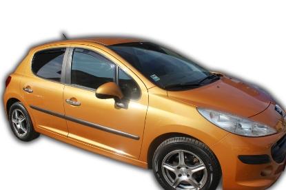 Poza cu Set paravanturi fata si spate, Peugeot 207, 2006-2012