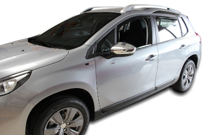 Poza cu Set paravanturi fata si spate, Peugeot 2008, 2013-2019