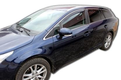 Poza cu Set paravanturi fata si spate, Toyota Avensis, 2009-2018