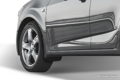 Poza cu Aparatori de noroi (set fata), Peugeot 208, 2012-2019