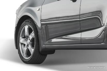 Poza cu Aparatori de noroi (set spate), Peugeot 208, 2012-2019