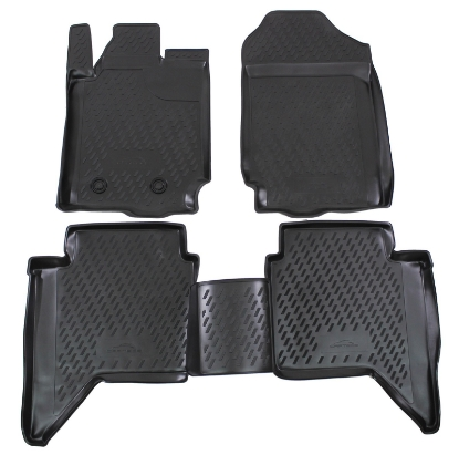 Poza cu Covorase din cauciuc tip tavita Premium, Ford Ranger, 2011-
