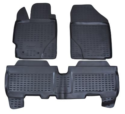 Poza cu Covorase din cauciuc tip tavita Premium, Toyota Yaris, 2005-2011