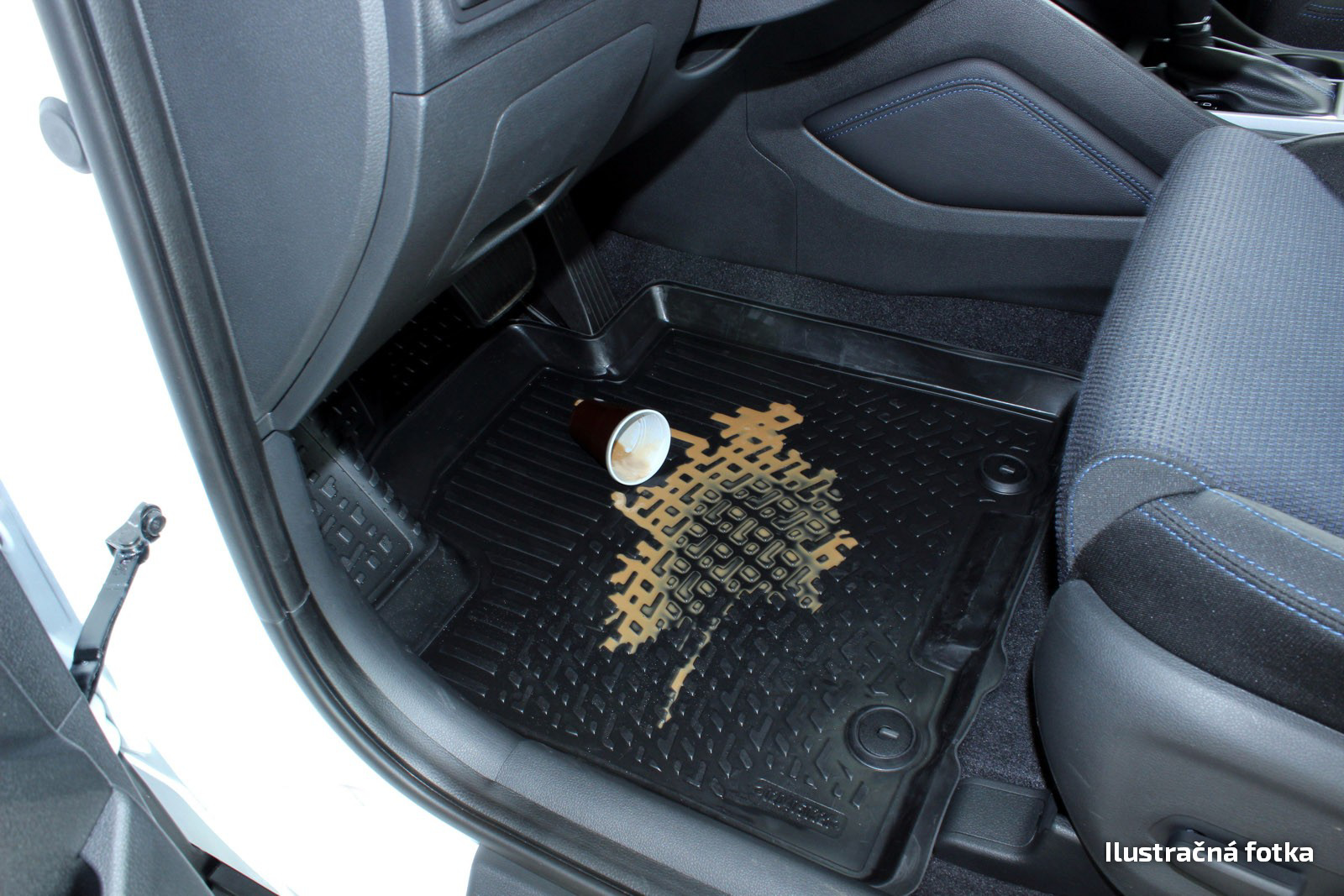Poza cu Covorase din cauciuc tip tavita Premium, Hyundai i20, 2008-2014