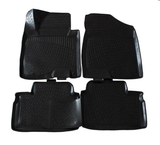 Poza cu Covorase din cauciuc tip tavita Premium, Hyundai i30, 2011-2017