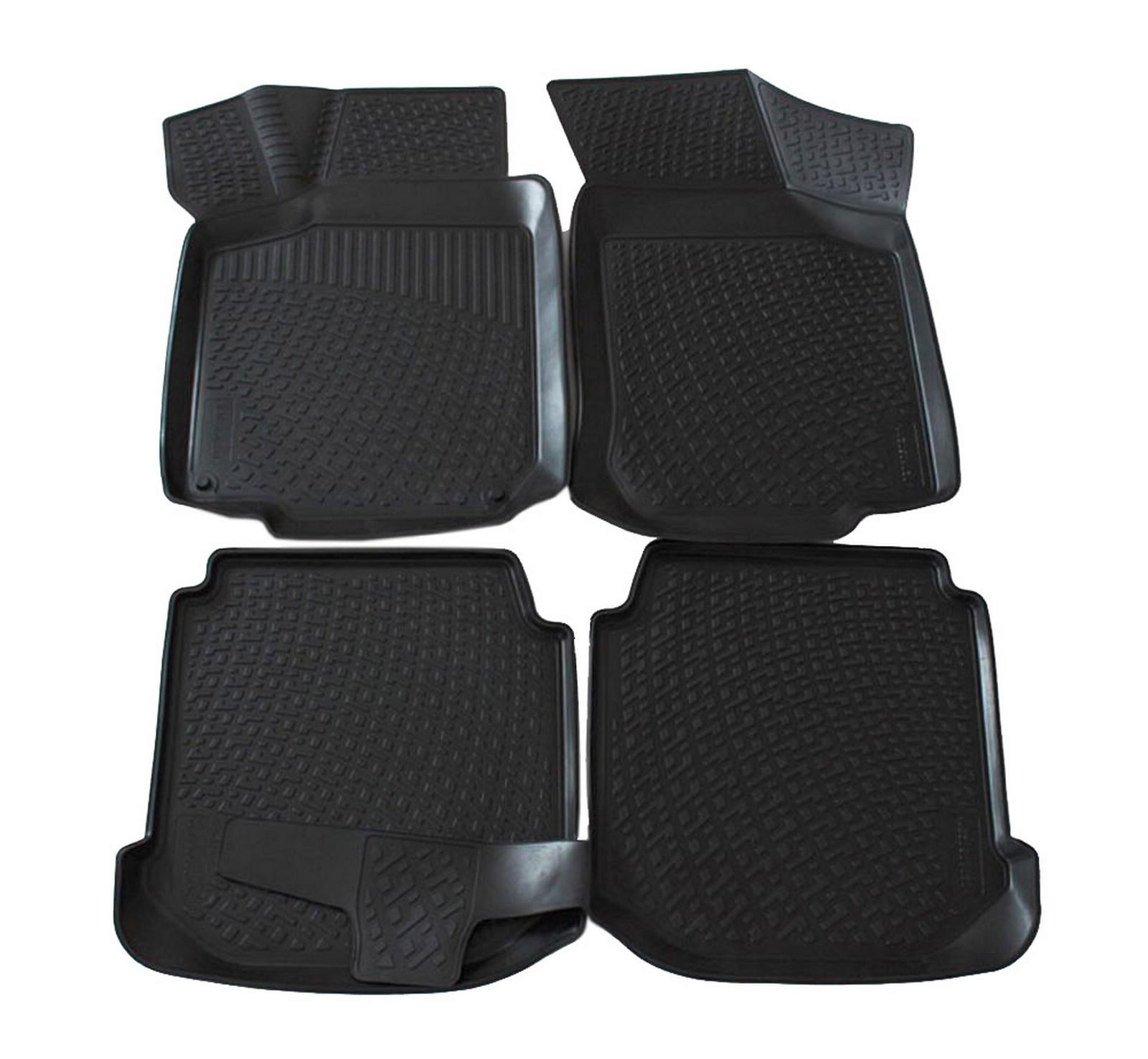 Poza cu Covorase din cauciuc tip tavita Premium, Seat Leon, 2005-2012