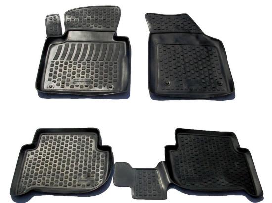 Poza cu Covorase din cauciuc tip tavita Premium, Volkswagen Touran, 2003-2015