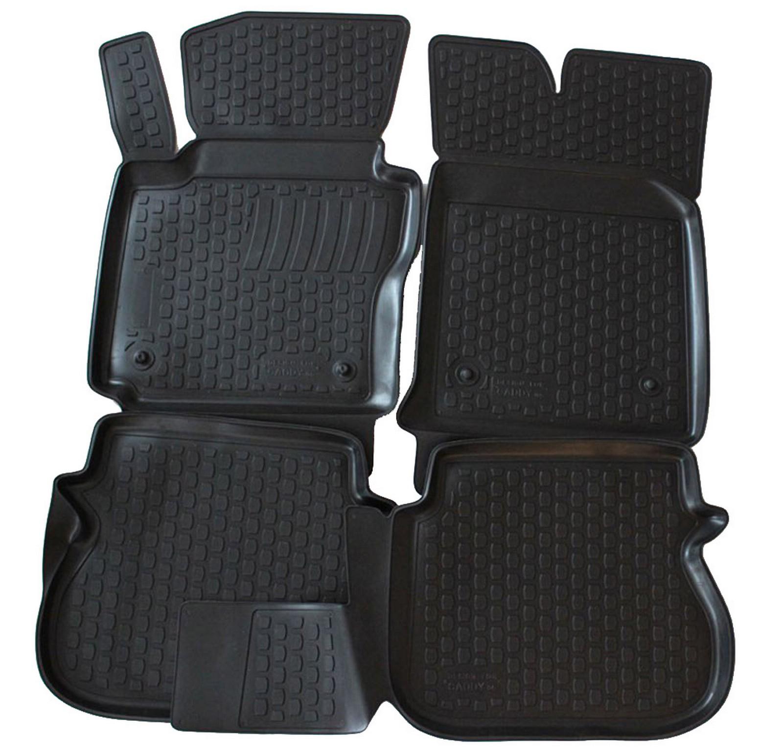 Poza cu Covorase din cauciuc tip tavita Premium, Volkswagen Caddy, 2003-2015
