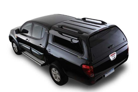 Poza cu Hardtop Aeroklas cu geamuri cu deschidere laterala (pop-up), Mitsubishi L200, 2009-2015