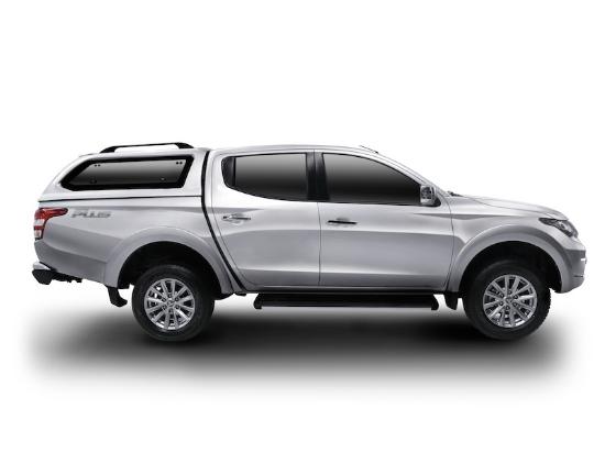 Poza cu Hardtop Aeroklas cu geamuri cu deschidere laterala (pop-up) si inchidere centralizata, Fiat Fullback, 2016-2019
