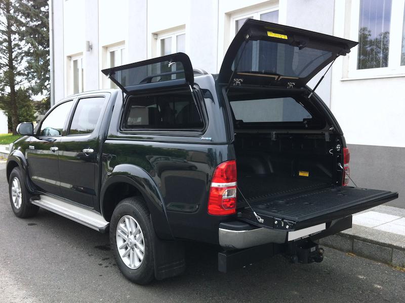 Poza cu Hardtop Aeroklas cu geamuri cu deschidere laterala (pop-up), Toyota Hilux, 2005-2015