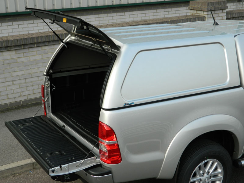 Poza cu Hardtop Aeroklas fara geamuri laterale, Toyota Hilux, 2005-2015