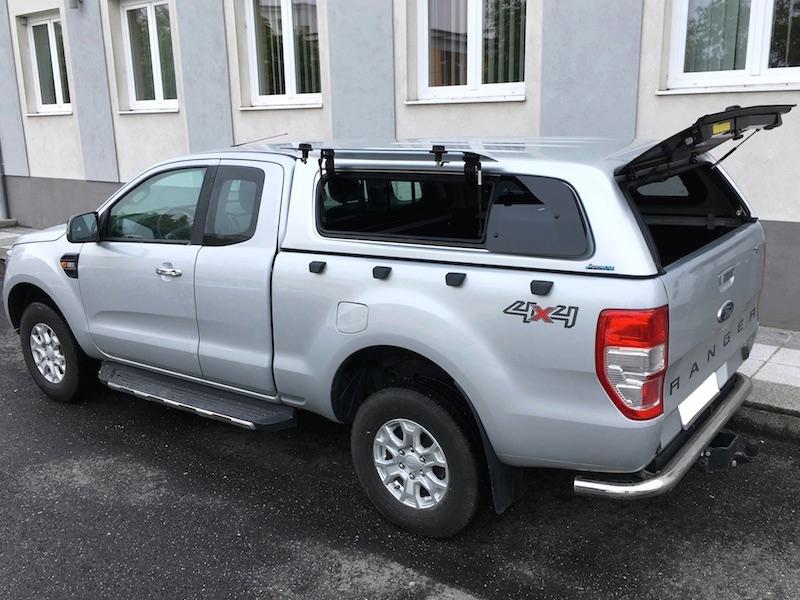Poza cu Hardtop Aeroklas cu geamuri cu deschidere laterala (pop-up) si inchidere centralizata, Ford Ranger, 2011-