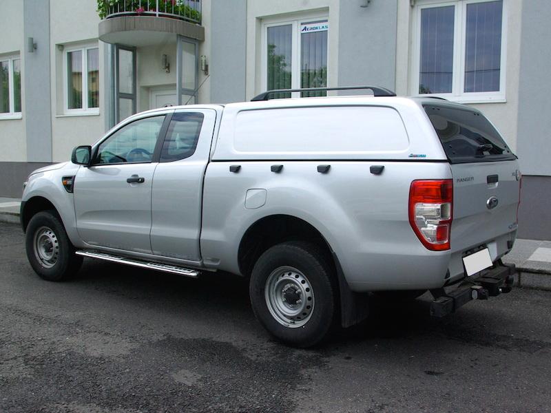 Poza cu Hardtop Aeroklas fara geamuri laterale cu inchidere centralizata, Ford Ranger, 2011-