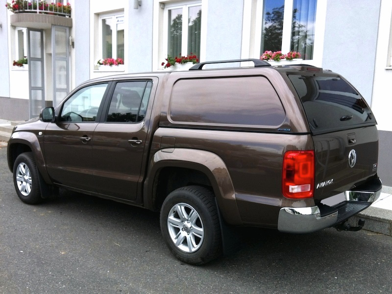 Poza cu Hardtop Aeroklas fara geamuri laterale cu inchidere centralizata, Volkswagen Amarok, 2010-2020