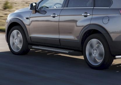 Poza cu Trepte laterale RIVAL Advanced (TUV), Chevrolet Captiva, 2011-2015