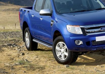 Poza cu Trepte laterale RIVAL Premium (TUV), Ford Ranger, 2011-