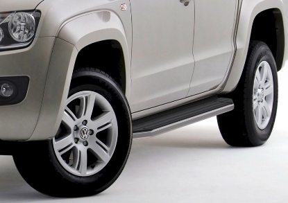 Poza cu Trepte laterale RIVAL Premium (TUV), Volkswagen Amarok, 2010-2016