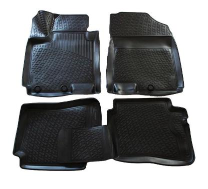 Poza cu Covorase din cauciuc tip tavita Premium, Hyundai i20, 2014-2020