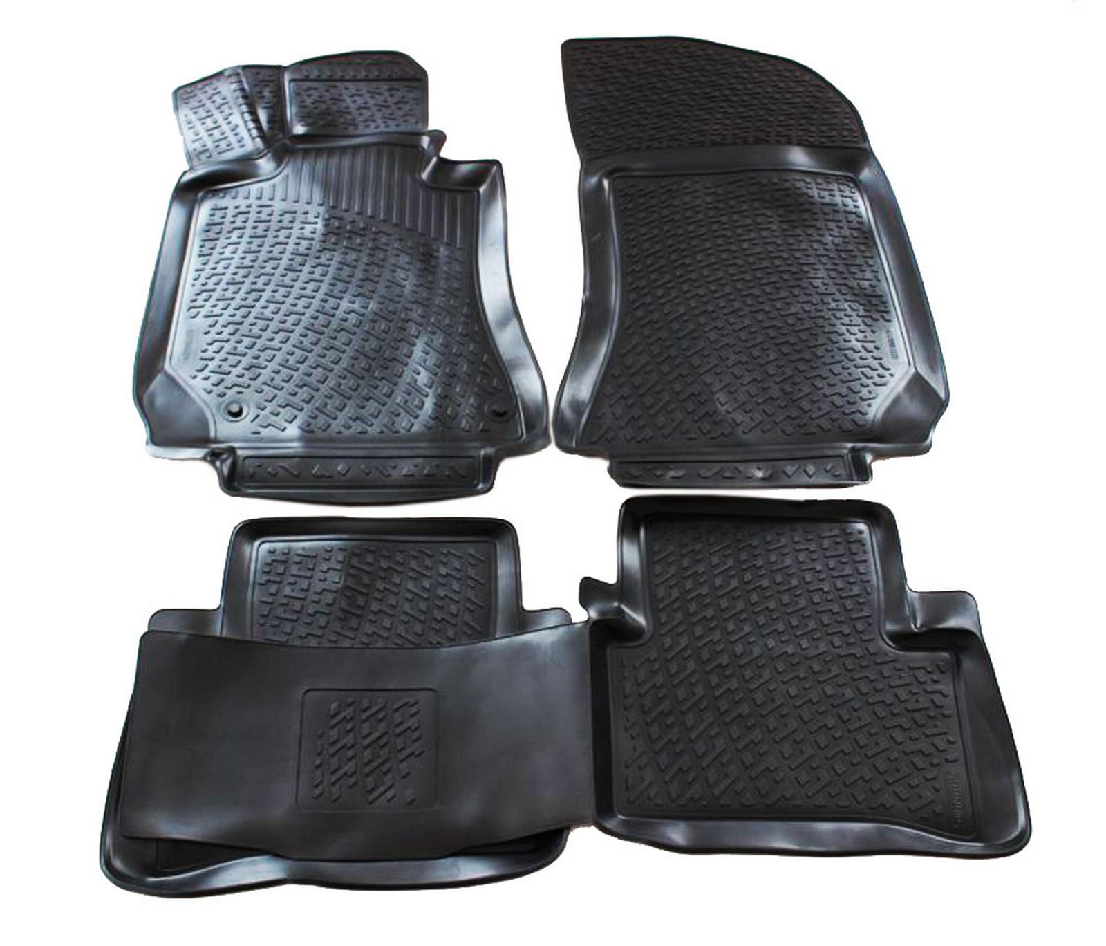 Poza cu Covorase din cauciuc tip tavita Premium, Mercedes-Benz Clasa C (W204), 2007-2011