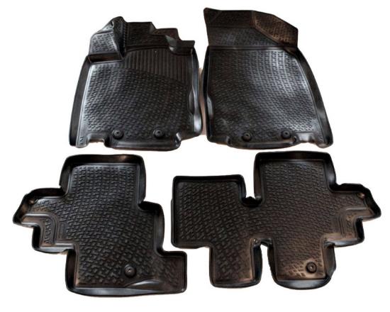 Poza cu Covorase din cauciuc tip tavita Premium, Nissan Pathfinder, 2012-