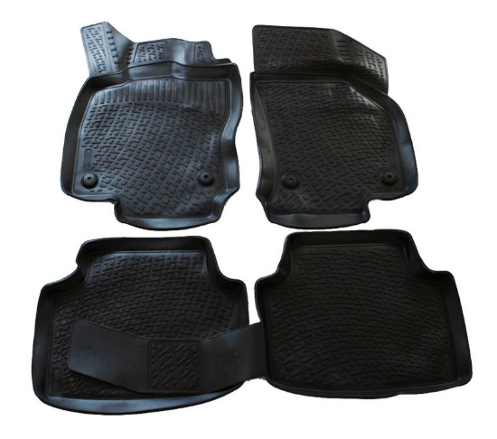 Poza cu Covorase din cauciuc tip tavita Premium, Volkswagen Passat (B8), 2015-