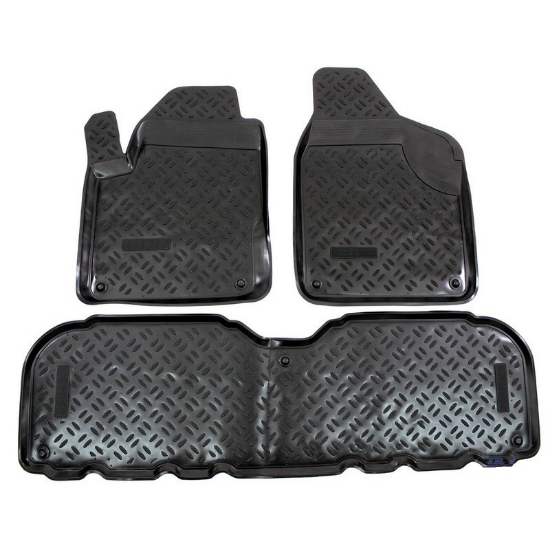 Poza cu Covorase din cauciuc tip tavita Premium, Seat Alhambra, 2000-2010