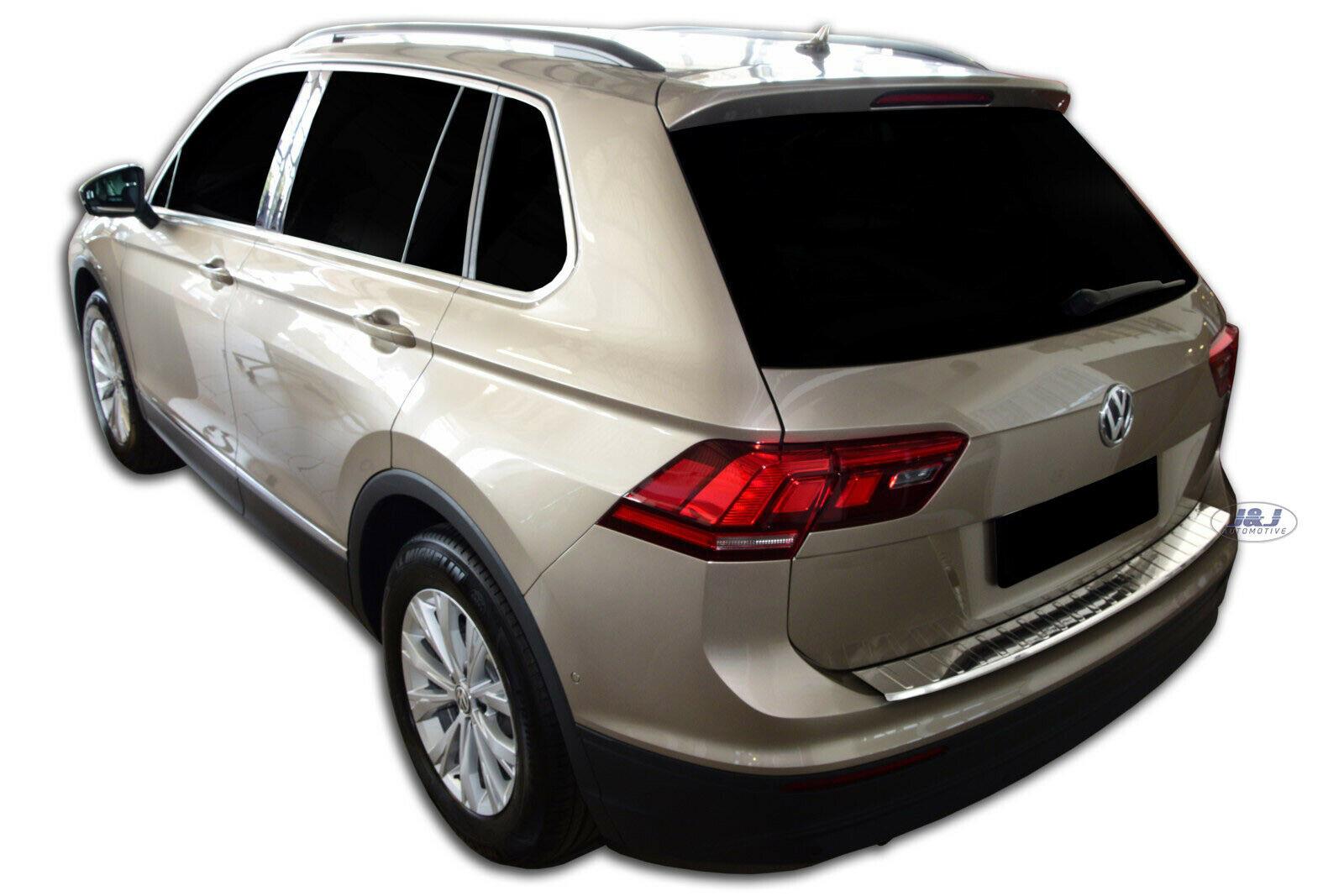Poza cu Protectie bara spate, Volkswagen Tiguan, 2016-