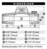 Poza cu Troliu WARN VR EVO 12-S, Ford Ranger, 1998-
